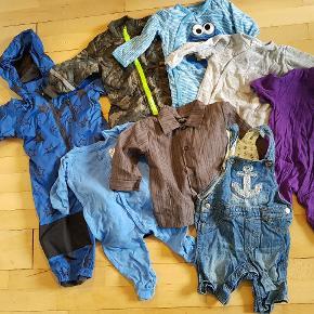 Regndragt, thermodragt, skjorte og shorts aldrig brugt. Resten i rigtig fin stand. Generelt om mine tøjpakker: Normalt er tøjet i fin stand - der kan dog være skrevet navn i, oftest på mærket, eller mærket kan være taget ud. Enkelte tøjstykker kan have lidt pletter eller fnuller, men det vil være sjældent.