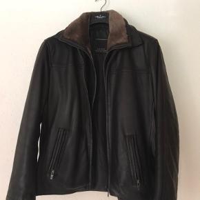 Morgan skind- & læderjakke