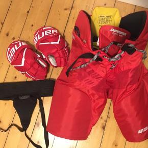 Ishockey udstyr - spørg for størrelse og pris