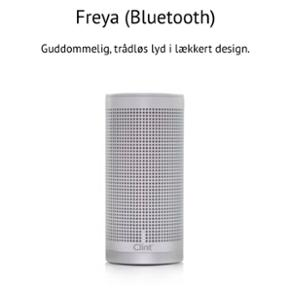 FREYA Bluetooth højtaler - fremstår som nye.  Farve : Hvid Ny pris stykket : 1295.-kr  2 stk. sælges for kun 2000,-kr