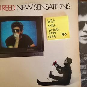 Lou Reed vinyl lp plade samling fine sange musik grammofonplade god stand