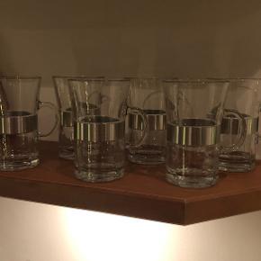 Rosendahl hot drink glas - 6 stk  Fejler ikke noget  FAST PRIS