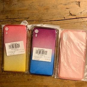 iPhone XR cover. 50kr Per stk.