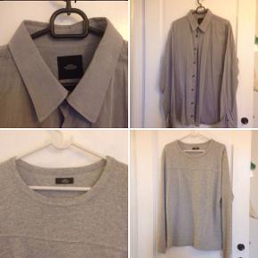 *OPRYDNING*2 x Mads Nørgaard dele i str. Medium = 100 kr. - Nypris for skjorte = 600 kr. - Nypris for trøje = 500 kr. FØRST TIL MØLLE! Mega billigt. I rigtig fin stand.