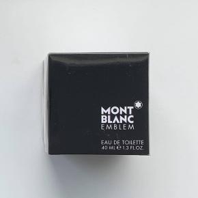 Mont Blanc Emblem 40 ml. Jeg sælger denne ubrugte og uåbnede parfume. Jeg er villig til at forhandle om prisen, dog frabeder jeg mig useriøse bud.
