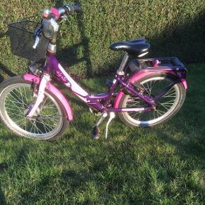 Super flot pigecykel med cykelkurv, lås med nøgle og 3 gear❤️