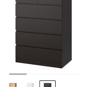 Ikea malm kommode. 6 skuffer. Fin stand