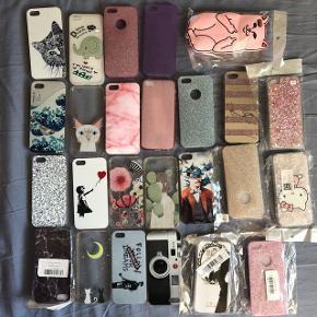 25 iPhone SE, 5s eller iPhone 5 covers. 50kr for dem alle plus evt porto. Nogle lidt brugte men i perfekt stand. Andre aldrig brugt og stadig i indpakning. Jeg bor i Odense SØ🦋