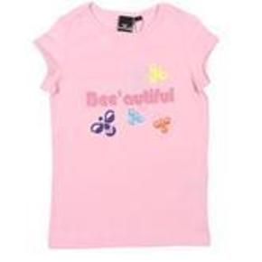 Varetype: NY T-ShirtStørrelse: 10 år Farve: Lyserød  NY T-Shirt i str. 10 år fra Hummel.  Mindsteprisen er kr. 150+porto.  Jeg bytter ikke.