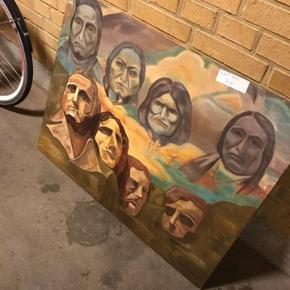 Helt ny malet maleri sælges, til højst bydende over 1000,-kr