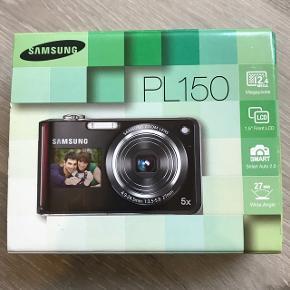 Samsung kamera med skærm nåde foran og bagved så man kan tage selfies. BYD!