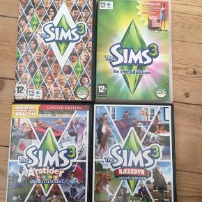 Alle Sims 3 spil kan afhentes i Aalborg Midtby for 50 kr