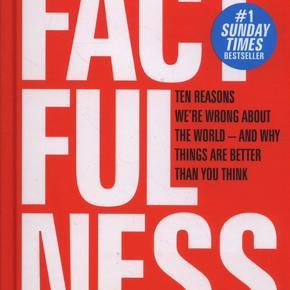 Sælger er helt nyt eksemplar af Hans Rosling's populære og anmelderroste bog Factfulness. Bogen er en hardback bog og på engelsk.