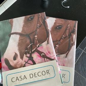 CASA DECOR sengebetræk sælges ✨ 2stk i str 140x200 100% bomulds-satin