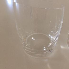 Sælger disse to Eva Solo whisky glas. Brugt som vandglas, ganske få gange. Fejler intet. Sælges som et sæt :)