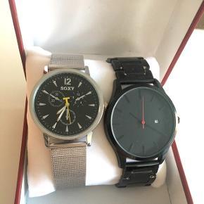 HERREURE - 2 ure, det sølv er aldrig brugt. Sælges billigt! ☺️⌚️⏱