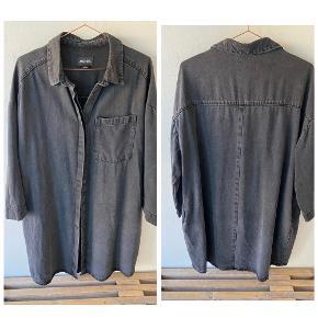 Oversize skjortekjole, helt ny, fejlkøb