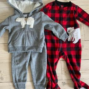 Tøjpakke : pyjama With zipper and sweatpant set. Used foran little while but fine.