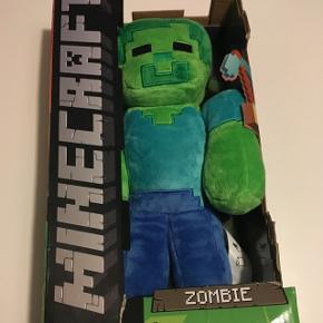 Minecraft zombie, stadig i kasse. Aldrig brugt.