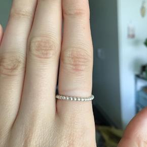 Fin ring næsten ikke brugt, ren sterlingsølv