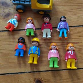 Playmobil figurer og bil.....