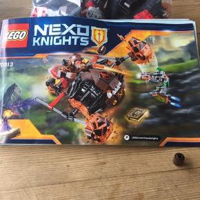 LEGO nexo knigths 70313 Der mangler en af den viste på billedet, ellers komplet...