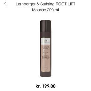Lernberger Stafsing Rootlift mousse. Brugt en gang. Np: 199,-