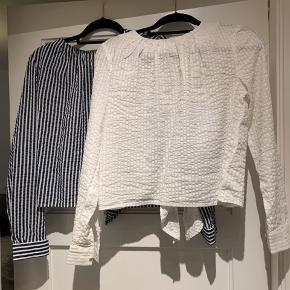 To skjorter, aldrig brugt, stadig med mærke i.  Sælges for 120kr pr. Stk!!  BYD gerne, køber betaler for fragt hvis de skal sendes