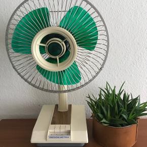 Ventilator fra 70erne - 60cm høj