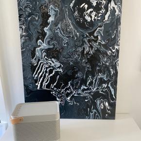 Acryl maleri. Har aldrig været hængt op