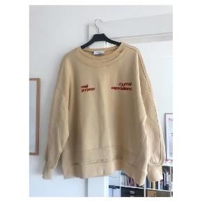 Cool oversized sweatshirt fra zara