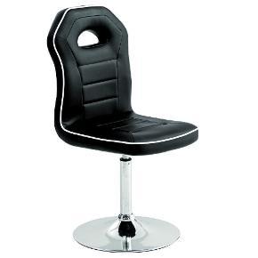 6 spisebordsstole fra Daells Bolighus - har desværre forlagt bonen.  Har haft dem i 1-1,5 år, men de har stået i spisestuen, så er kun blevet brugt en sjælden gang, når der var flere gæster. Der er derfor en anelse patina på nogle af stolene, som jeg vedlægger et billede af i kommentarene, men som en generel ting, ser de stadig rigtig godt ud. Der er selvfølgelig også en anelse brugsridser på foden, men det kan ikke undgås.   Beskrivelse fra hjemmesiden:  • Spisestuestol på drejesokkel • Sort PU med forkromet stålstel • Drejesokkel • Kraftig polstring • Mål i cm: H91 x B43 x D57 • Sædehøjde 48 cm  Ny pris: 1198,- for 2 = 3594,- for alle 6 Min pris: 1500,-  Skal afhentes i 5591 Gelsted, men kan evt. fragtes på Fyn, mod benzinpenge.