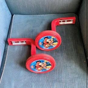 Mickey mouse støttehjul  - fast pris -køb 4 annoncer og den billigste er gratis - kan afhentes på Mimersgade 111 - sender gerne hvis du betaler Porto - mødes ikke andre steder - bytter ikke