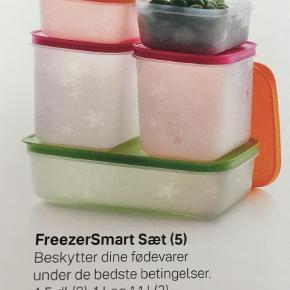 Varetype: Andet Størrelse: Div Farve: MULTI Oprindelig købspris: 379 kr.  Super godt sæt til opbevaring af madvarer i køleskab/fryser. Aldrig brugt  Bemærk du sparer 25 kr i gebyr + 79kr på nyprisen.