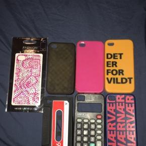 Covers til iPhone 4/4S sælges  10 kr stk.