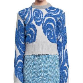 Varetype: Sweater Gaze Farve: Multi   Sælger min Acne Gaze hvis det rigtige bud kommer, da jeg desværre ikke har fået den brugt  Fabric: Intarsia knit. 40% wool/22% mohair/15% polypropylene/12% acrylic/11% nylon.  Made in Italy.  Mp 1500 kr pp over mobilpay eller plus gebyr