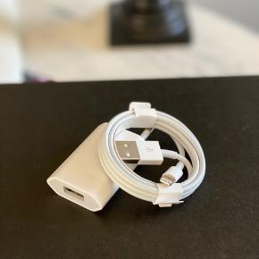 ORIGINAL Apple 220V USB lader  🔥 Se også mine andre annoncer & følg mig gerne - der kommer løbende nye ting 🔥