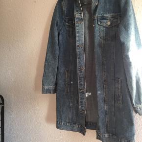 Lækler denim jakke str 38 / medium