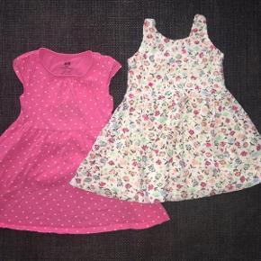 Zara 92 Tøjpakke tøjpakker kjoler hvid blomstrede Lyserød pink m hjerter blomster