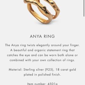 Smuk ring fra Maanesten, brugt minimalt og ellers bare lagt i æske 💍