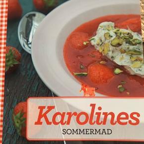 Karolines Sommermad Sælges samlet med den anden Karolines køkken bog for 50 kr