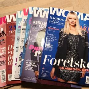 Woman blade, en god stak med masser af godt læsestof  Samlet pris 20 kr for ca 20 blade 👍🏻