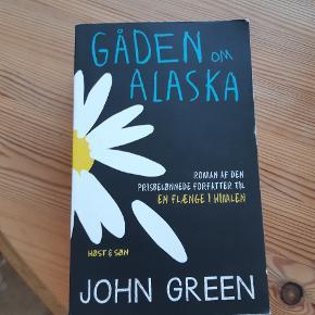Bog af john Green Gåden om Alaska Paperback- fejler intet