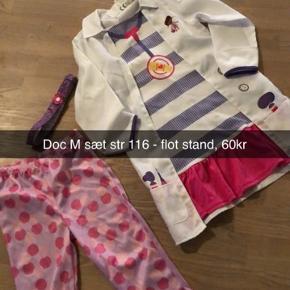 Doctor mcstuffins udklædning / fastelavn sæt, som nyt