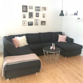 Stor mørkegrå sofa Ca 5 år gammel Afhentes i Dyssegård