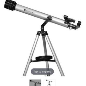 70060 - 525 Power - Starwatcher Telescope by Barska   525 Power, 70060 Starwatcher Reflector, Silver,Red Dot Finderscope, Deep Sky Astronomy Software. Solid reflector telescope, fully coated optical glass that enhances image brightness and clarity, interchangeable eyepieces to increase viewing power. Engineered with an equatorial mount with setting circles and dual slow motion adjustment cables. Includes sturdy adjustable aluminum tripod and Red Dot finderscope to help aim at sky targets. Excellent for astronomy enthusiasts and professionals.