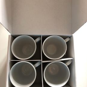 Eva trio kopper 4 stk. 40 Cl. Aldrig brugt. Ny pris 399,95 kr. Nu 150 kr.