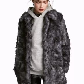 H&M fur coat size 38