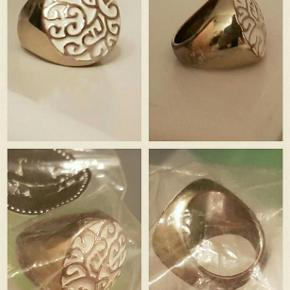 flot oversize ring Farve: sølv