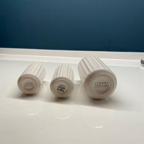 2x 8 cm  1x 12 cm   Fejler intet.   60 pr styk for 8 cm  100 kr for 12 cm.   Alle 3 sælges samlet for 130..   Kan hentes i vanløse